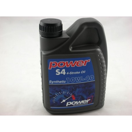 HUILE POWER 1 SYNTHETIC 10W-40 S4 4 TEMPS 1L