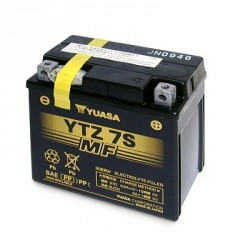 BATTERIE YUASA YTZ7S 12V-6A (HONDA PCX)