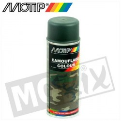 SPRAY MOTIP 400ML VERT OLIVE ARMY
