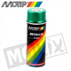 SPRAY MOTIP 400ML VERT METALLISE