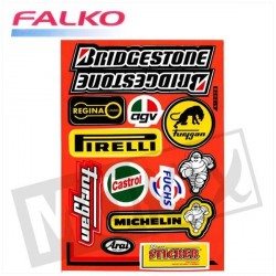 STICKERS BRIDGESTONE 33X22CM