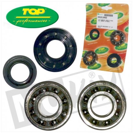 ROULEMENTS VILEBREQUIN + JOINTS SPI SKF BOOSTER/NITRO