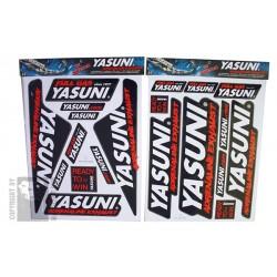 PLANCHE AUTOCOLLANTS YASUNI 45X35CM
