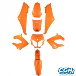 8 PIECES HABILLAGE TUN'R SENDA DRD 2006/XTREM/X RACE (2000-2011) ORANGE