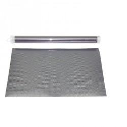 FEUILLE 30X45 PVC LOOK CARBONE FINE