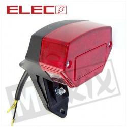ACHTERLICHT ZPP/KREIDLER 12V OP VOET(ULO) ROOD LED