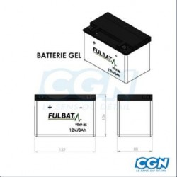 BATTERIE GEL ACSA MG9-BS 12V 8A (YTX9-BS)