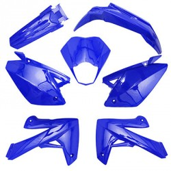 7 PIECES HABILLAGE RIEJU MRT BLEU BRILLANT