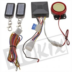 ALARM UNIT 2X AFSTANDSBEDIENING + REMOTE START