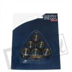 JEU DE 6 GALETS RMS 20X12 15.3GR SKYLINER/X-MAX 125CC