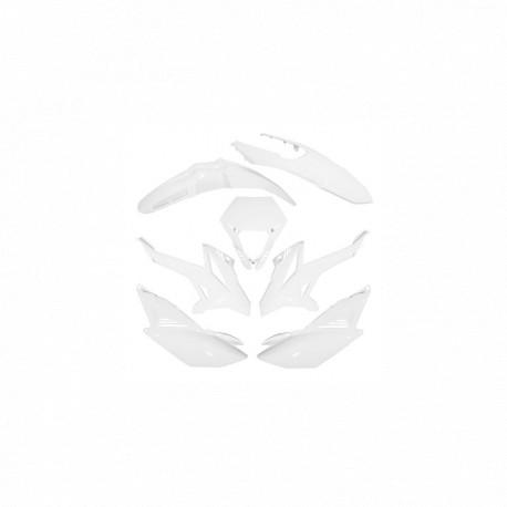 CARROSSERIE/CARENAGE 50 A BOITE ADAPTABLE BETA 50 RR 2012 BLANC (KIT 7 PIECES)