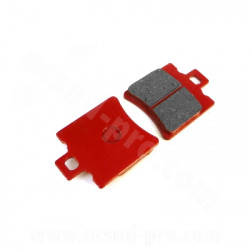 PLAQUETTES PEUGEOT/BOOSTER/TYPHOON (49.5X39.7X6MM)