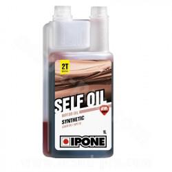 HUILE IPONE 2T SELF OIL SYNTHETIC SENTEUR FRAISE (1 LITRE)