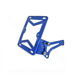 SUPPORT LATERAL PLAQUE IMMATRICULATION ADAPT BOOSTER- NITRO BLEU ANODISE