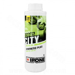 HUILE IPONE 2T SCOOT CITY SEMI-SYNTHESE (1 LITRE)