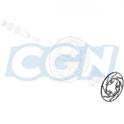 DISQUE DE FREIN ARRIERE PEUGEOT CITYSTAR/ELYSEO/JET/SATELIS/ELYSTAR 125CC (D.210)