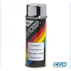 BOMBE SPRAY MOTIP 400ML EFFET CHROME