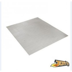 GRILLE DECO ANODISE SILVER 30X30