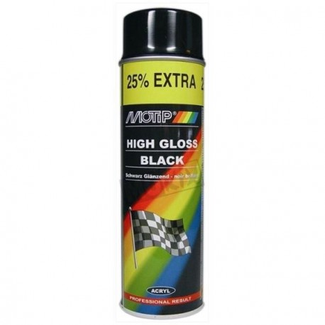 SPRAY MOTIP 500ML NOIR BRILLANT